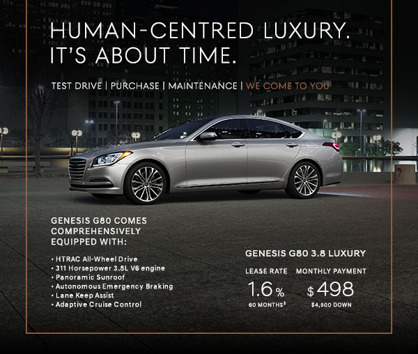 Genesis G80 Lease >> Introducing Genesis A New Luxury Experience